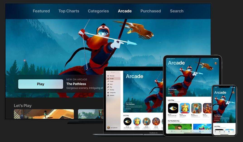 Apple Arcade(アップルアーケード)で遊べるデバイス