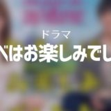 ドラマ「ゆうべはお楽しみでしたね」無料でフル動画視聴!1話から全部見る!本田翼主演ドラマ